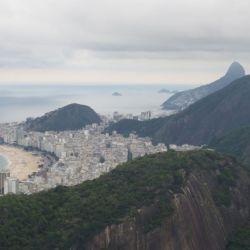 Copacaban und Berge